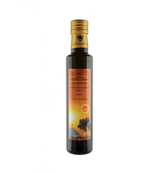 意大利阿普利亚大区PDO Gianecchia特级初榨橄榄油  250ml 瓶装