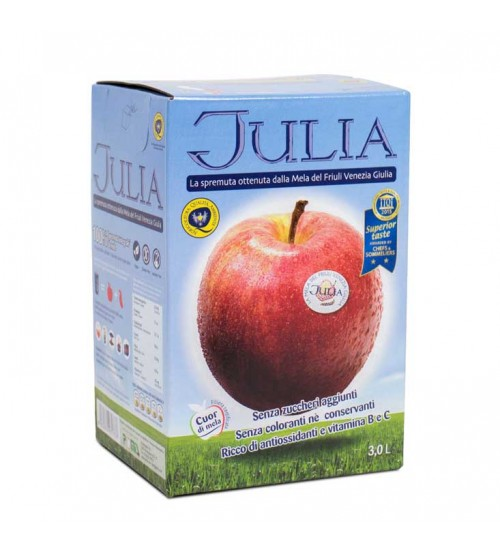 意大利Julia鲜榨苹果汁  3L