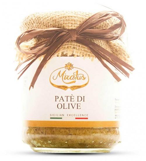意大利西西里岛纯手工制作绿橄榄涂抹酱  180g