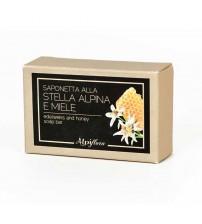 天然雪绒花和蜂蜜香皂    100g