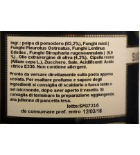 意大利卡拉布里亚大区蘑菇酱   420g