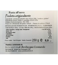 意大利纯手工制作 Tagliatelle 鸡蛋面   250g