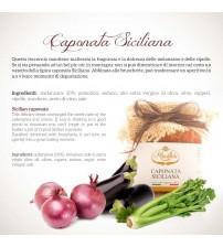 意大利西西里岛特色茄子混合蔬菜酱  180g