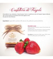 意大利西西里岛纯手工草莓酱  220g